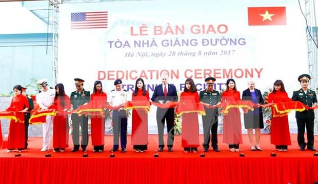 美国援建越南教学楼 提升参与联合国维和行动的部队培训质量 hinh anh 1