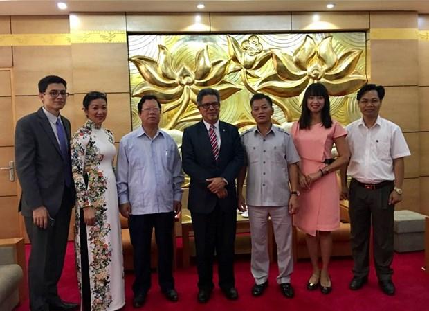 越南与萨尔瓦多促进团结友谊 hinh anh 1