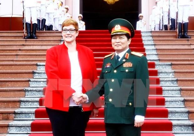 越南与澳大利亚安全合作日益密切 hinh anh 1