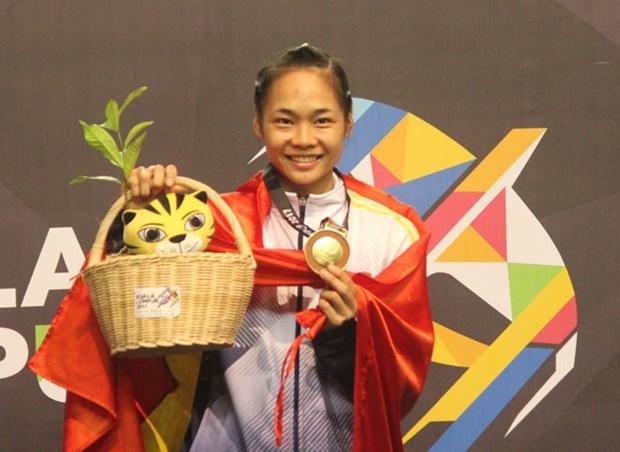 第29届东南亚运动会:29日越南班卡苏拉运动员获2金6银 hinh anh 1