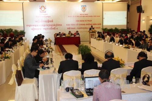 越柬建交50周年:深化边境省份司法机关之间的司法合作 hinh anh 1