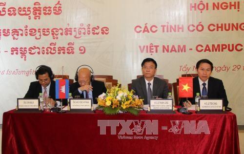 越柬建交50周年:深化边境省份司法机关之间的司法合作 hinh anh 2
