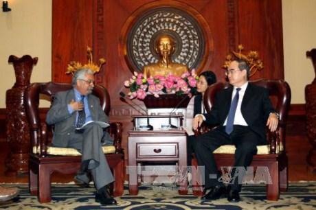 胡志明市与联合国开发计划署加强合作 hinh anh 1
