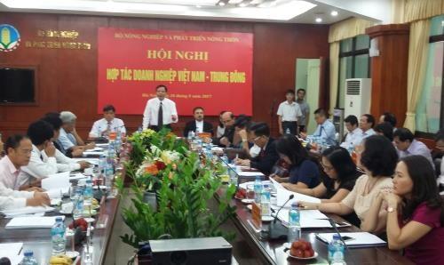 越南进一步加大对中东地区农产品出口力度 hinh anh 1