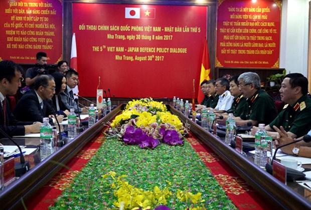 第五次越日防务政策对话在越南庆和省召开 hinh anh 1