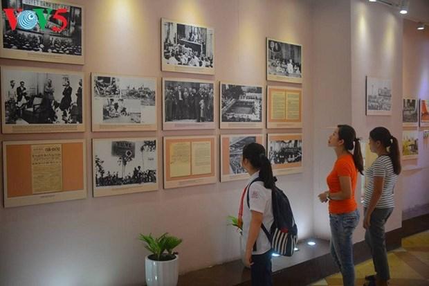 造访胡志明主席撰写宣告越南民主共和国诞生的《独立宣言》的地方 hinh anh 2