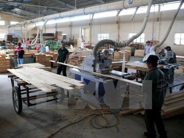今年8月越南工业生产指数同比增长8.4% hinh anh 1