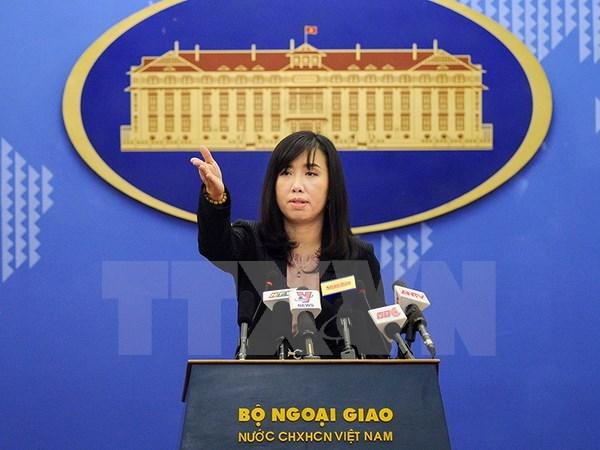 越南要求中国停止和不再采取使东海局势复杂化的行动 hinh anh 1