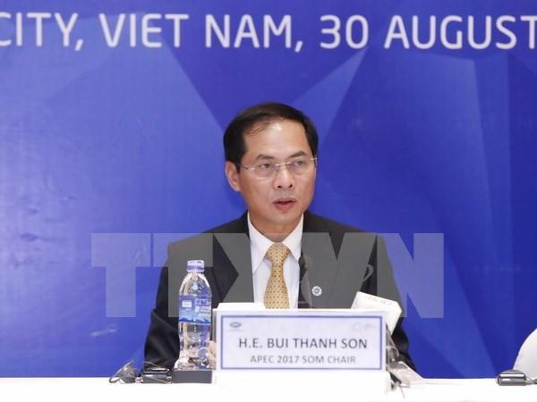 2017年APEC会议:2017年亚太经合组织第三次高官会圆满落幕 hinh anh 1