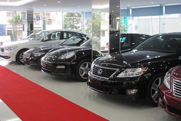 2017年前8个月越南的汽车进口额达逾13.8亿美元 hinh anh 1