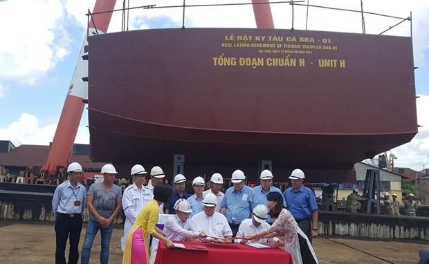 越南为加拿大制造现代渔船 hinh anh 2