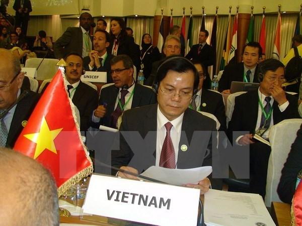 越南出席东亚-拉美合作论坛外长会议 hinh anh 1