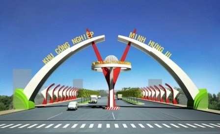 越韩两国企业合作兴建的中纤板生产厂在平福省落成 hinh anh 1