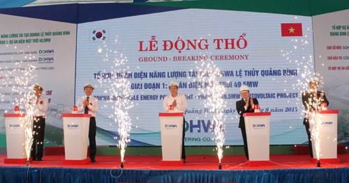 韩国Dohwa集团投入5500万美元建设可再生能源项目群 hinh anh 1