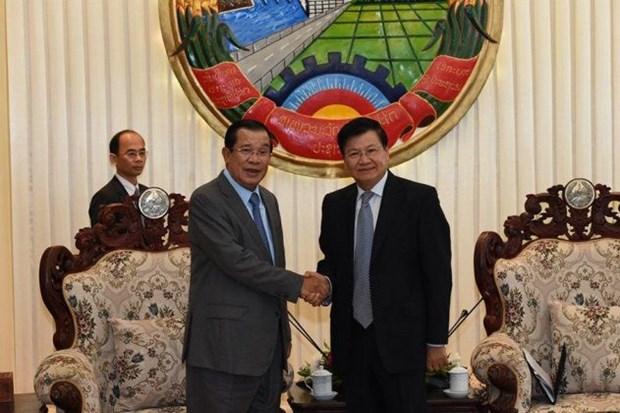 柬埔寨与老挝两国领导就解决边界问题达成4项重要共识 hinh anh 1