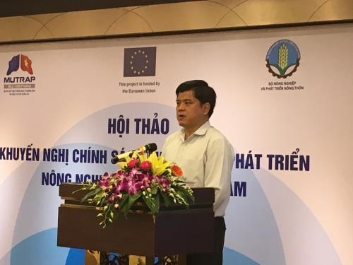 为有机农业发展提供政策支持 hinh anh 1