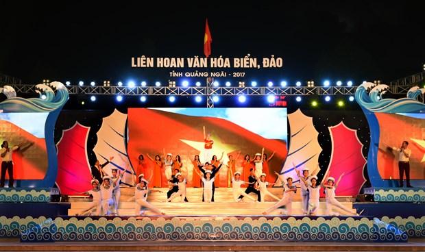 2017年广义省海洋海岛文化周开幕式在广义省举行 hinh anh 1