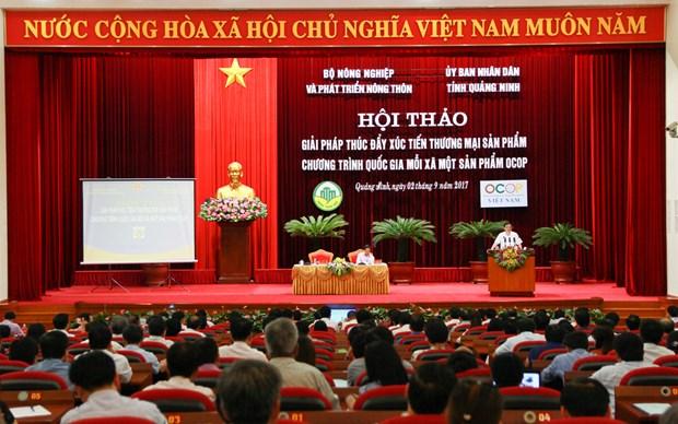"""广宁省为国家""""一乡一品""""计划产品寻找推动贸易促进工作的措施 hinh anh 1"""