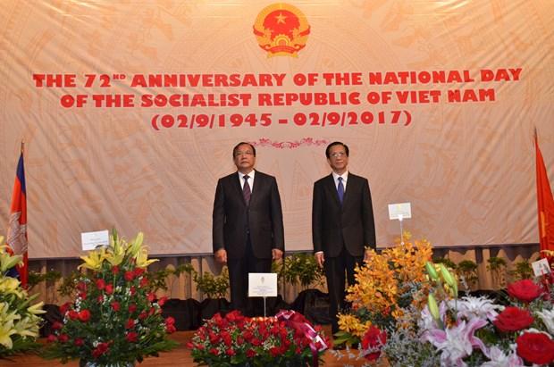 越南驻外大使馆纷纷举行国庆招待会 热烈 庆祝国庆72周年 hinh anh 4