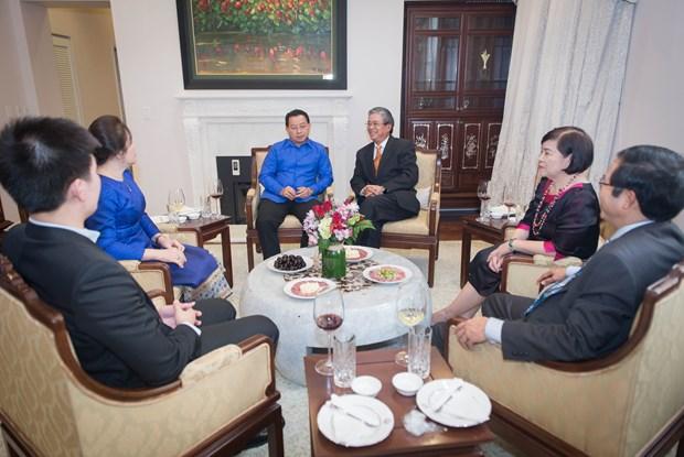越南驻外大使馆纷纷举行国庆招待会 热烈 庆祝国庆72周年 hinh anh 6