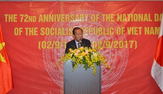 越南驻外大使馆纷纷举行国庆招待会 热烈 庆祝国庆72周年 hinh anh 3