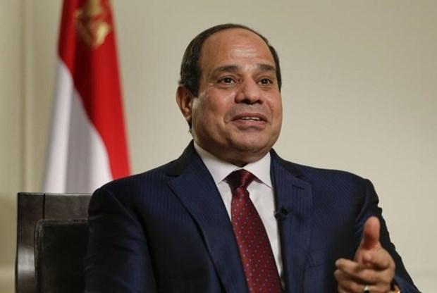 埃及总统塞西开始对中国和越南进行访问 hinh anh 1