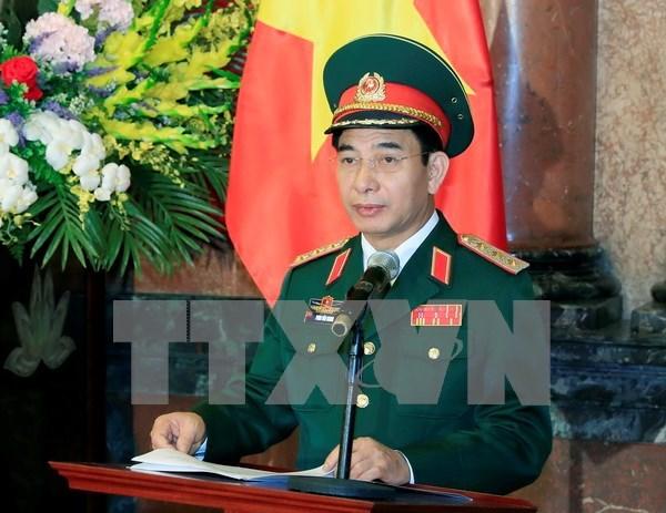 越南人民军高级军事代表团出席第20届亚太国防军司令会议 hinh anh 1