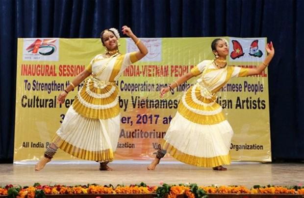 """""""印越文化对接""""图片展在印度举行 hinh anh 1"""