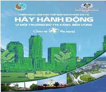 越南积极响应让世界清洁起来运动 hinh anh 1