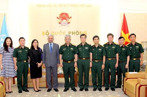 联合国继续为越南维和领域提供支持 hinh anh 1