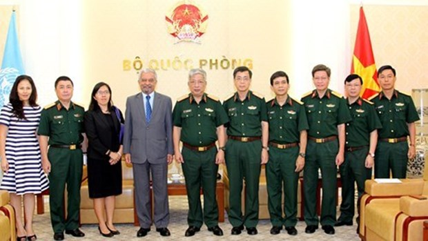 联合国协助越南增强维和部队的能力 hinh anh 1