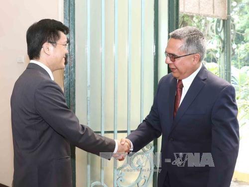 古巴外交部代表团访问越南 hinh anh 1