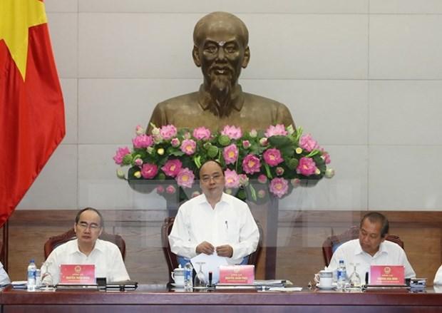 阮春福总理:最大限度放权 让胡志明市能充分发挥在推动经济社会发展中的主动性和创造性 hinh anh 1