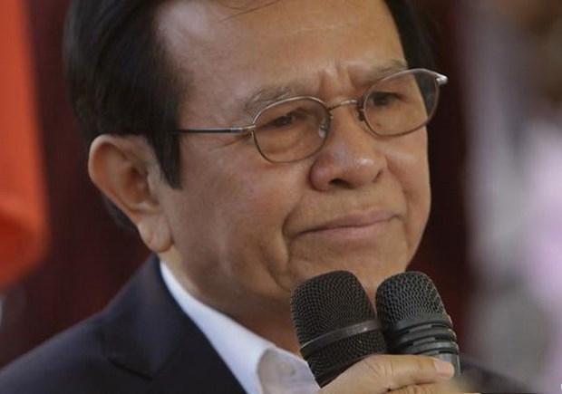 柬埔寨法院决定临时拘留反对派救国党主席根索卡 hinh anh 1