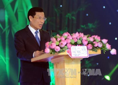 """题为""""美丽祖国""""的联谊晚会在胡志明市举行 hinh anh 2"""