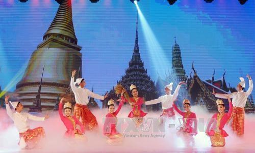 """题为""""美丽祖国""""的联谊晚会在胡志明市举行 hinh anh 3"""