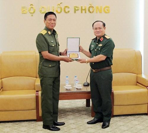 越南与缅甸加强军队医院医疗合作 hinh anh 1
