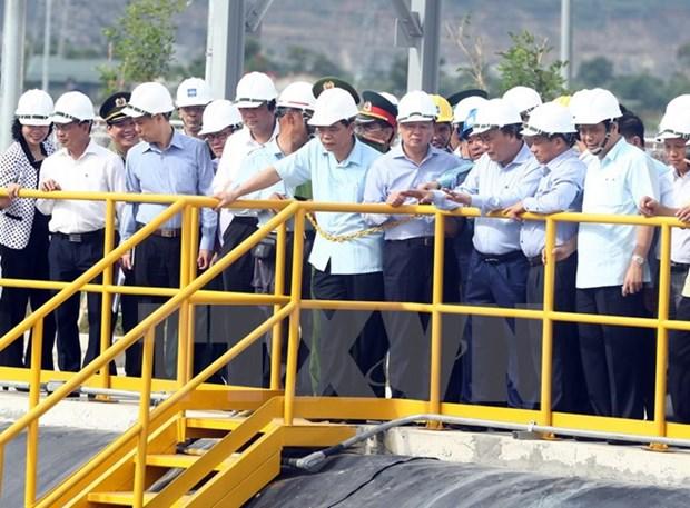 越南政府总理批准建设中部四省环境监测预警系统的主张 hinh anh 1