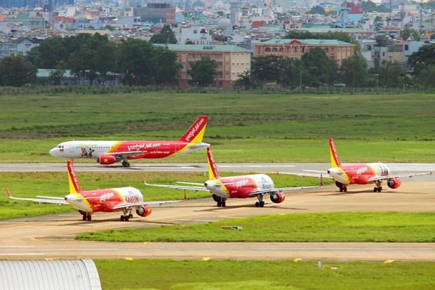 越捷在2017年胡志明市国际旅游博览会推出70万张零越盾起机票 hinh anh 1