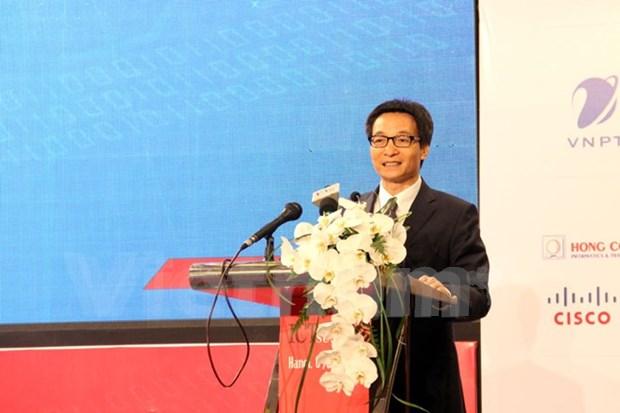 武德儋副总理:越南应大力推进第四次工业革命进程 hinh anh 1