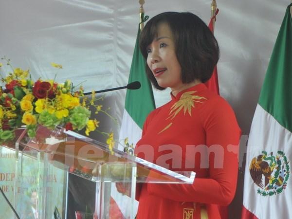 越南驻墨西哥、乌干达和莫桑比克大使馆举行活动 欢庆国庆节 hinh anh 1