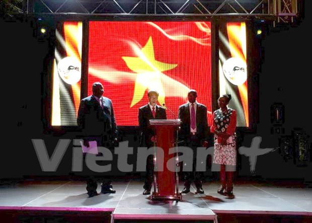 越南驻墨西哥、乌干达和莫桑比克大使馆举行活动 欢庆国庆节 hinh anh 2