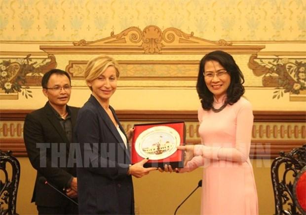 胡志明市与意大利促进文化遗产保护与旅游领域合作 hinh anh 1