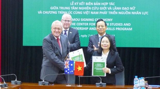 越南与澳大利亚加强合作 促进性别平等 hinh anh 1