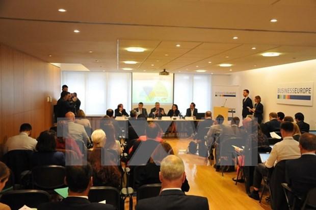 欧盟企业期待越南与欧盟自由贸易协定早日达成 hinh anh 1