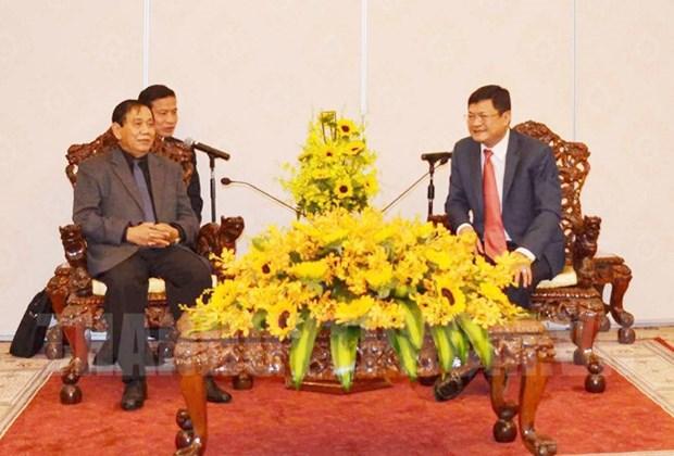 胡志明市与柬埔寨加强监察领域的合作 hinh anh 1