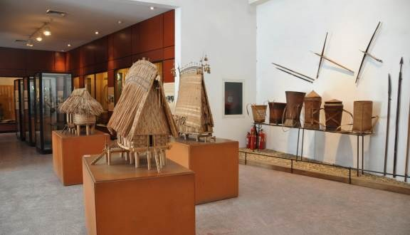 越南民族博物馆吸引游客参观 hinh anh 1
