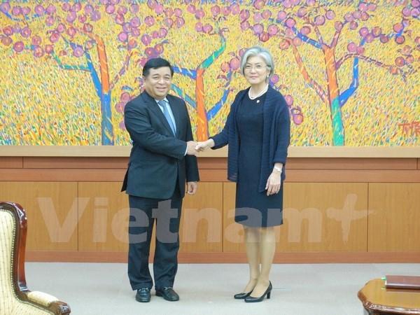越南计划与投资部部长阮志勇对韩国进行工作访问 hinh anh 2