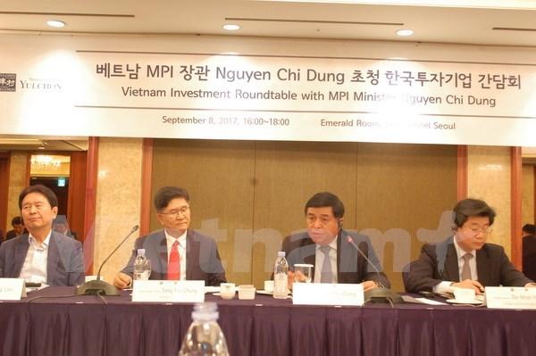 越南计划与投资部部长阮志勇对韩国进行工作访问 hinh anh 3