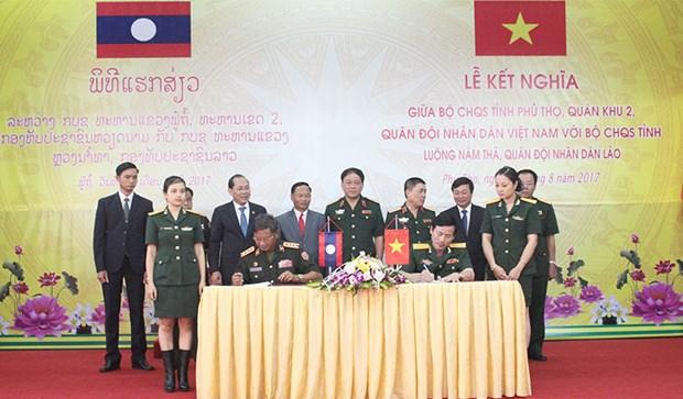 进一步加强富寿省与琅南塔省的合作 hinh anh 1